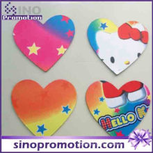 Прекрасный Hello Kitty Сердце Форма Подставки Кубок Pad Мат