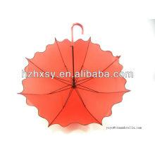 Paraguas de bastón de la lluvia para la boda