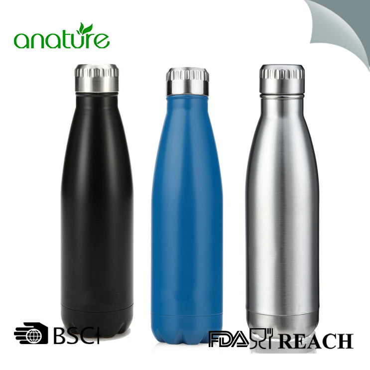 Stainless Steel Insulated Copper Cola Water Bottle