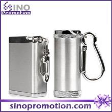 Personalizado ao ar livre windproof portátil aço inoxidável cinzeiro bin