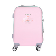 ABS Pink Luggage Fashion Customized