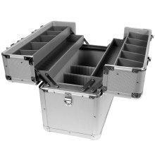 24L Silber Aluminium Angelgerät Box mit Strap