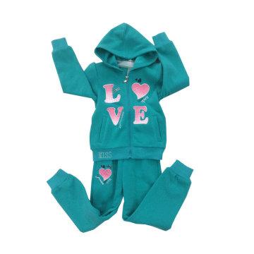 Hoodies da camisola do algodão da forma do lazer na roupa das crianças para ternos Swg-123 do esporte