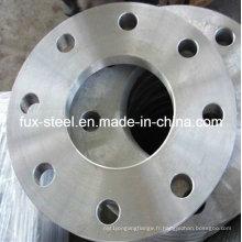 SABS1123 1000/3 visage plat huilé finition soudure sur brides avec matériel en acier doux (plaque FF FLG)