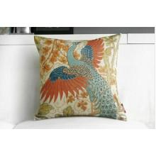 100% Cotton Square Decorative Throw Pillow Case Cushion