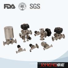 Stainless Steel Sanitary FDA Certified Diaphragm Valve (JN-DV1010)