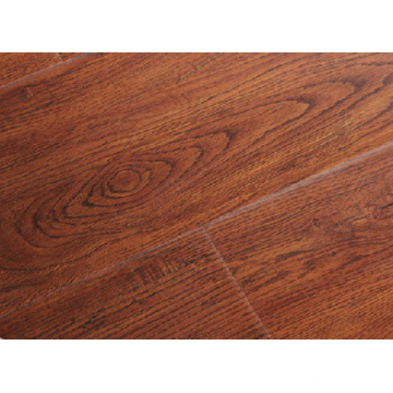 12mm AC3 E1 HDF Handscraped Laminated Flooring