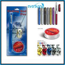 Linha de pesca, vara de pesca, pacote de presente de carretel de pesca, caneta Rod