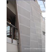 Наружная перфорированная панель для декорирования настенного покрытия (GLPP 8015)