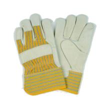 Gant de travail en cuir grain de vache, gant de sécurité, gant CE