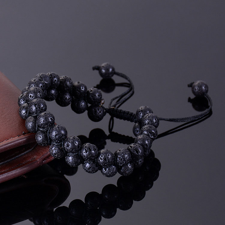 Lava Stone Bracelet For Essential Oils