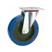 Swivel Type Industrial Rubber Wheel Caster (KXX2-D)