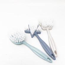 Household kitchen washing cleaning degradable corn flour high quality dish brush with handle