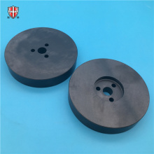 Placa de disco de cerâmica de isolamento eletrônico Si3N4 OEM