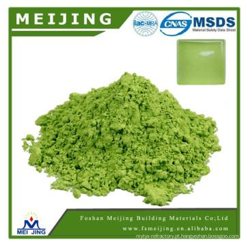 cor verde do pigmento de alta temperatura do cromo para o produtor de vidro do mosaico