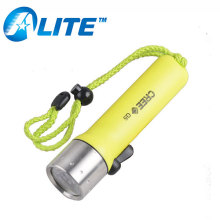 All export products YT-50 3W led dual light Plastic Diving Flashlight