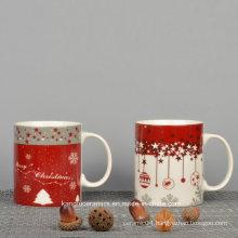 Customized Christmas Design Ceramic Mug
