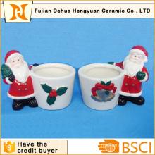 Christams Gift of Ceramic Desk Pot de fleurs pour la décoration