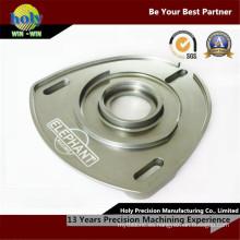 Cuerpo agradable de la placa de la comba del CNC del aluminio que muele de la calidad que trabaja a máquina del centro del CNC