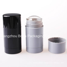 30ml 50ml 75ml Round Empty Plastic Deodorant Containers for Cosmetics Packaging