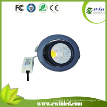 Cut Size 90mm drehbares LED Downlight bei 85 Lm / W