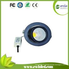 Downlight rotatif de LED à l'intense luminosité 130lm / W de 10W 15W 26W