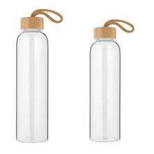 Vente chaude Pyrex pas cher Bpa gratuit bouteilles d'eau en gros