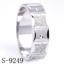 Boda de plata de ley / joyería del anillo de compromiso (s-9249)