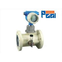 LWQ medidor de flujo de la turbina de gas para el medidor de flujo del vapor