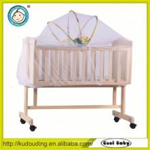 Heißer Verkauf europäisches Standardbaby hölzernes Bett Kopfteile