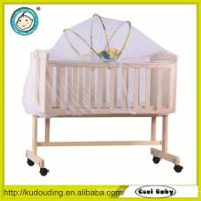 Cabeceiras de cama de madeira do bebê padrão europeu venda quente