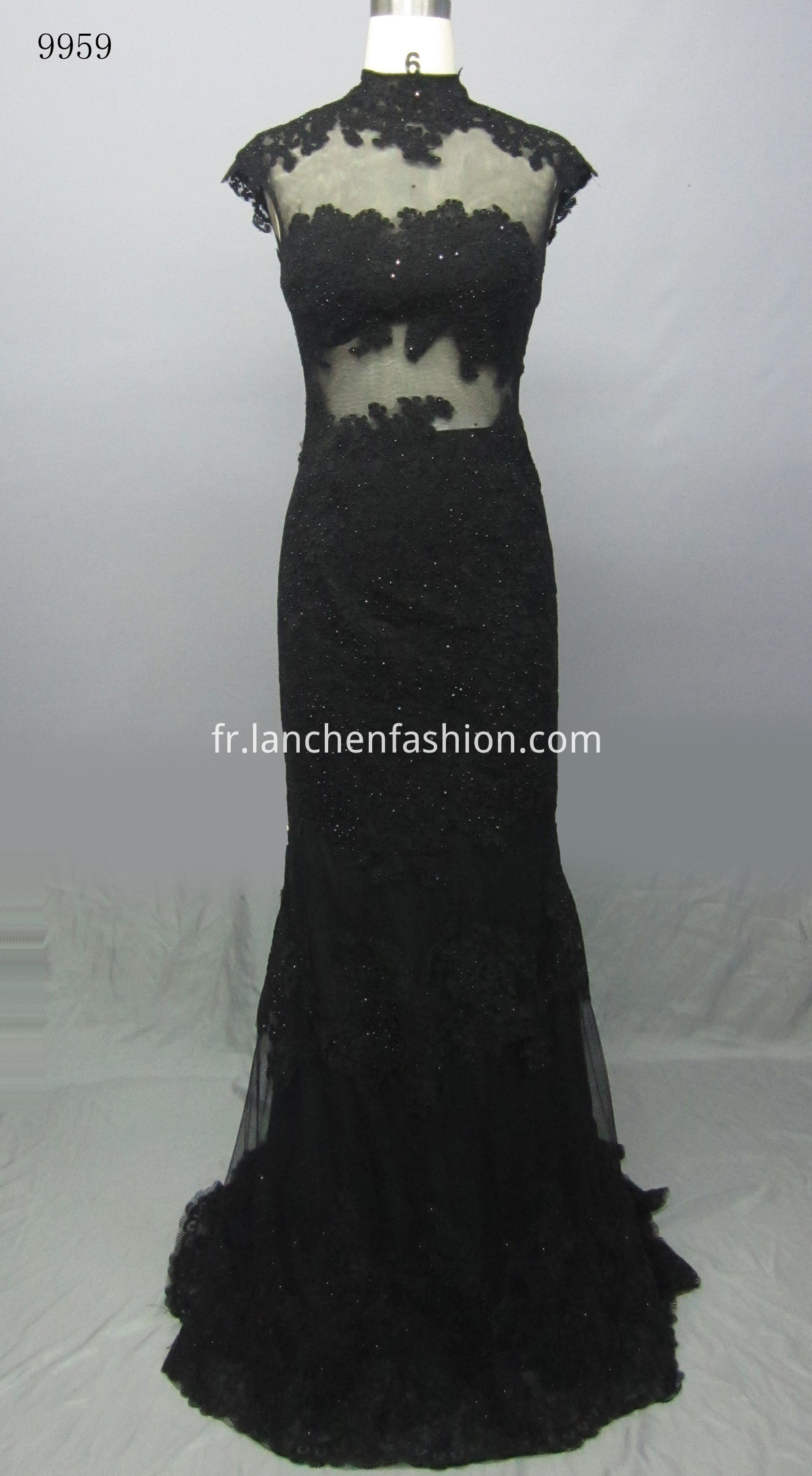 Prom Evening Dress BLACK