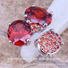 descuento joyas últimas cz piedra anillos diseños joyería