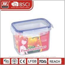 Caixa de armazenamento de comida de plástico 1000ML com anel de vedação
