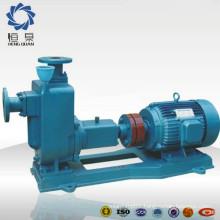 Self-absorption horizontal raw sewage pump