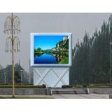Rgb P6 Dip Outdoor Custom Led Displays , High Definition Silan Chip