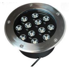 12W luz de assoalho ao ar livre do diodo emissor de luz com microplaquetas de Epistar