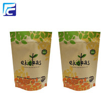 Best Quality for Kraft Paper Bags Zip Lock Stand Up Aluminum Foil Kraft Bag export to Indonesia Importers