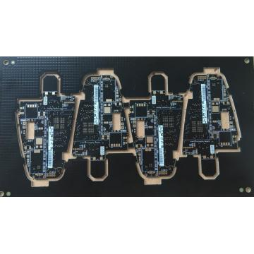 8 layer 0.8mm black solder ENIG PCB