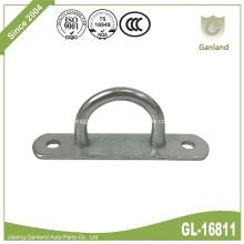 Steel Gate Staple On Elongated Eye Plate Hook