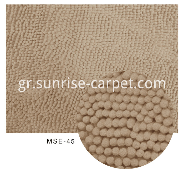 Chenille Rugs Beige