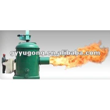 Quemador de biomasa para el sistema de secado