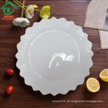 Gear Form Großhandel Keramik Tapas Platten, Porzellan Platten