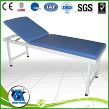 BDC104 Steel frame adjustable backrest examination table clinic tables