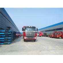 Foton light truck flat bed excavator transport