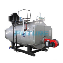 Caldera de vapor horizontal de 750kg / H