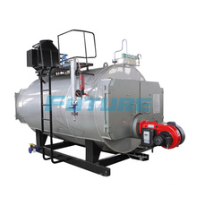 Horizontal 750kg/H Oil-Fired Steam Boiler