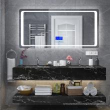 Vanités de salle de bain avec évier blanc brillant avec tiroirs