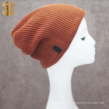 Оптовая вязание крючком прохладно зимняя мужская шапочка Hat для теплого