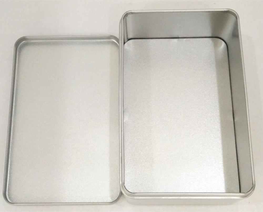 Rectangular Spice Tin Box sin impresión
